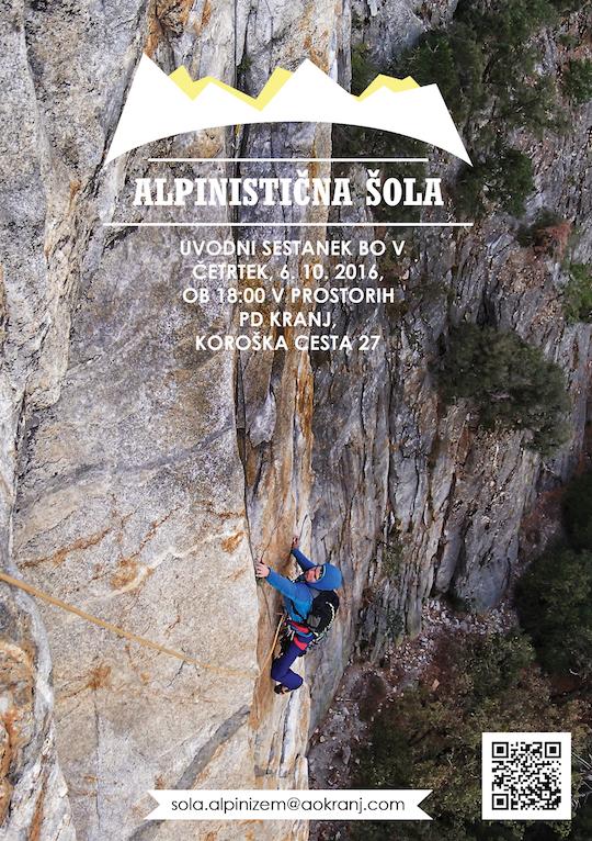 Alpinistična šola AO Kranj 2016/17