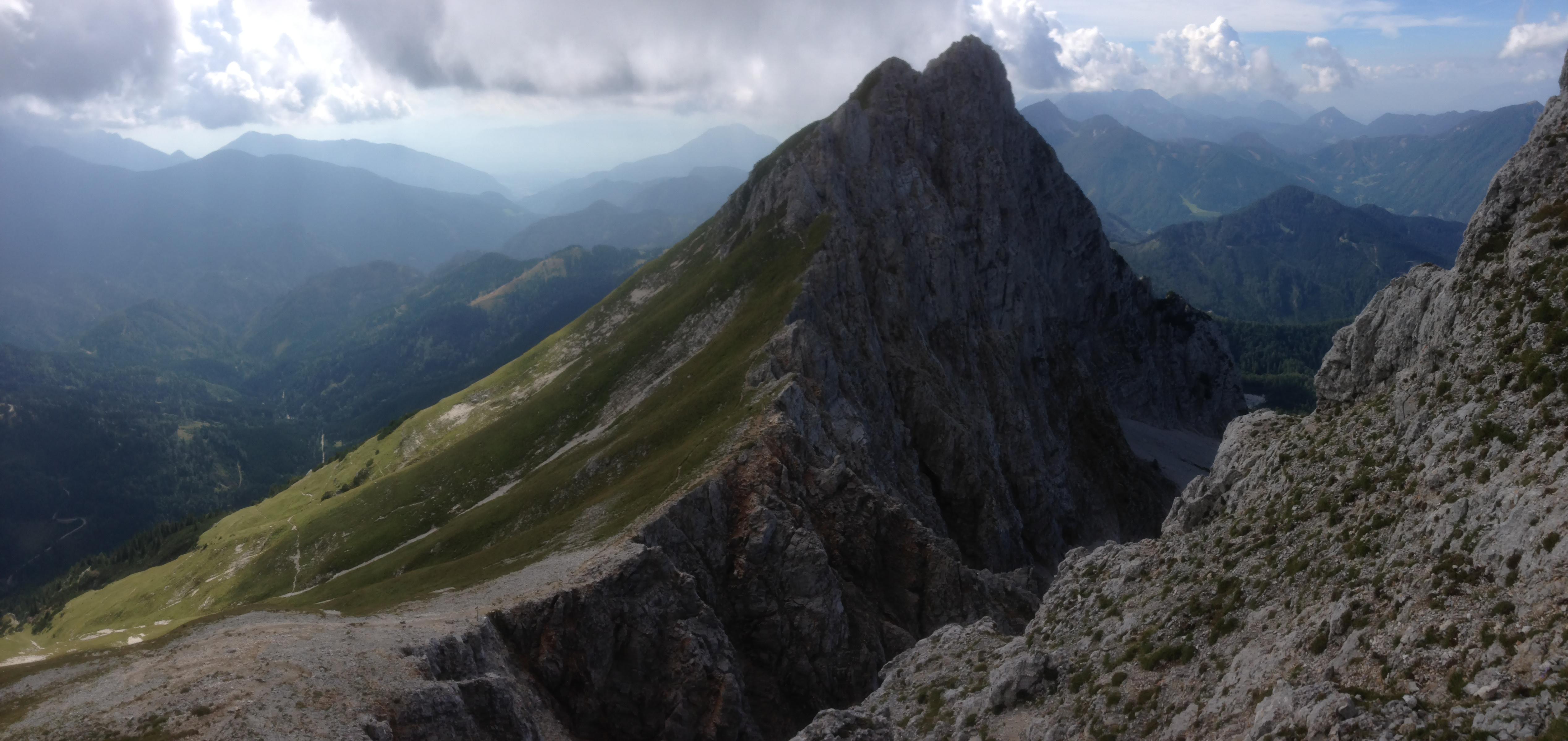 Sončna in temančna stran Alp