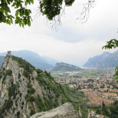 ...za lep razgled na Arco in Rivo del Garda