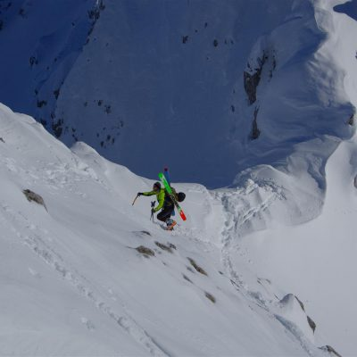Prihod na vrh. Foto: Franci Pogačar