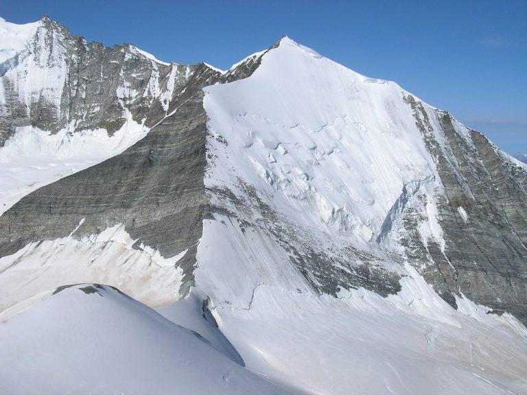 Bishorn, severna stena. Vir: summitpost.org