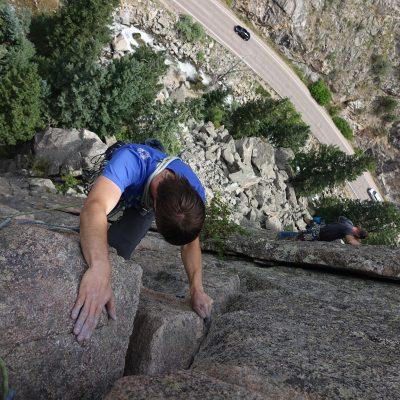 plezanje v Boulder Canyonu