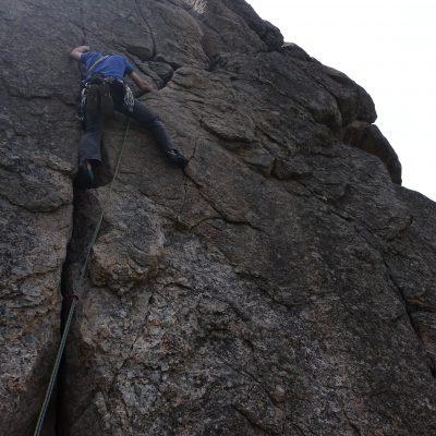 plezanje v Boulder Canyonu - 2