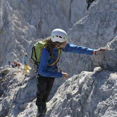 Proti vrhu. Foto: Jaka Dolinar