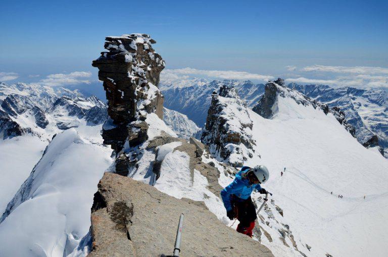 Sestop in razgled z vrha. Foto: Rok Eržen
