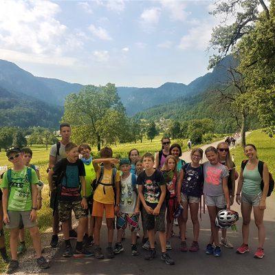 na poti do plezališča Bohinjska Bela