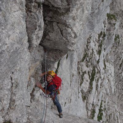 Vršac – Puntarska 3.7.2015 Med plezanjem je užival. Za plezanje je živel.