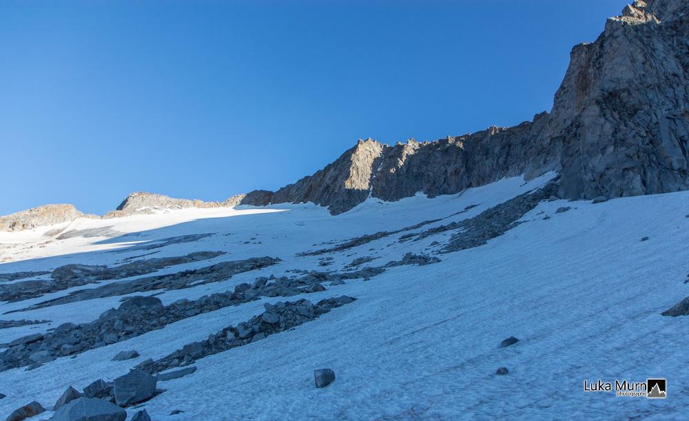 Tripkees gletscher