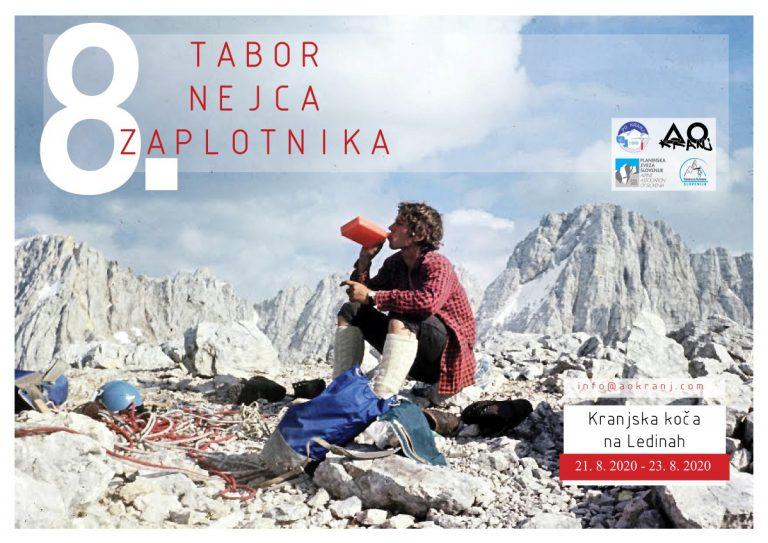 Alpinistični tabor Nejca Zaplotnika 2020