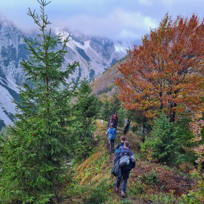 Začetek grebena Ljubeljščice. Foto: Tanja Stanič